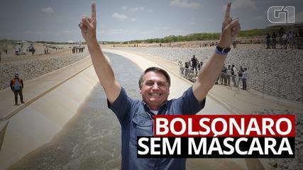 VÍDEO: Bolsonaro participou de 36 eventos oficiais sem máscara