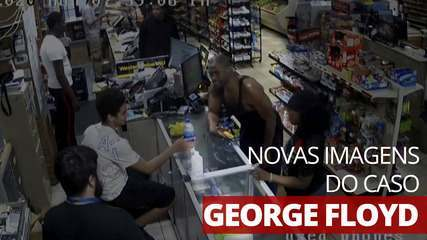 New images show George Floyd in store before police approach