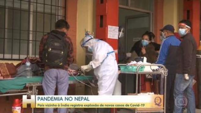 Vizinho da Índia, Nepal tem explosão em número de casos de Covid-19