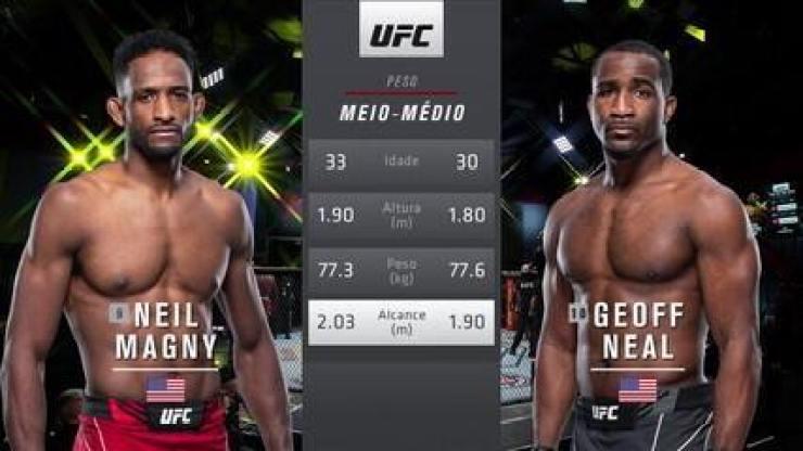 UFC Rodriguez x Waterson - Neil Magny x Geoff Neal