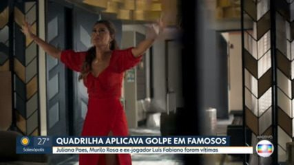 Justiça torna réus quatro acusados de aplicar golpes em famosos