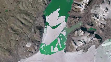 VIDEO: Greenland's highest point records rain for the first time