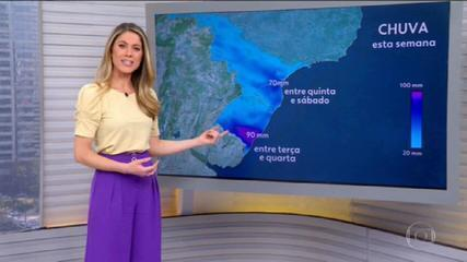 VIDEO: Rain forecast until the end of the week for the Center-South