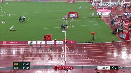 Petrúcio Ferreira is second in the semifinal of the men's 400m T47;  Lucas Lima finishes fourth - Tokyo Paralympics