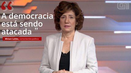 'Democracy is under attack', says Miriam Leitão