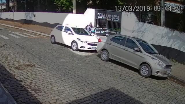 Imagens: Câmera de segurança