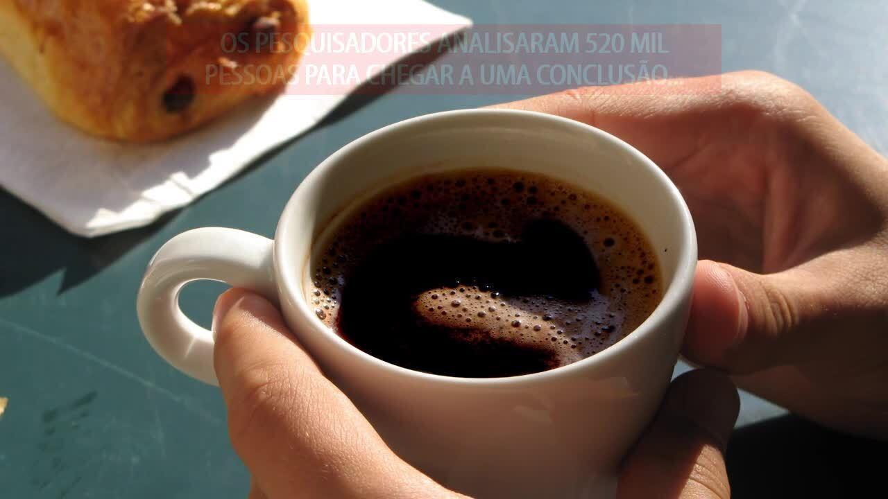 Beber café ajuda a viver mais, diz estudo