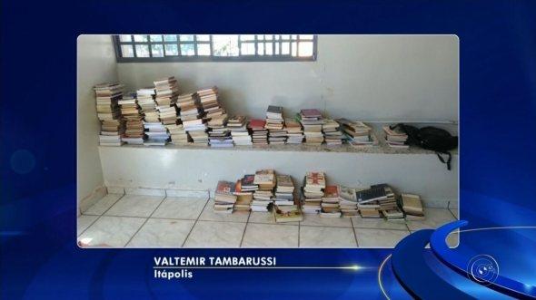 Jovem é detido por furtar livros em itápolis