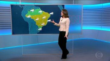 Confira a previsão do tempo para a terça-feira (8) em todo o país