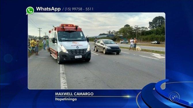 Ciclista morre após ser atropelado por carro na Raposo Tavares em Itapetininga