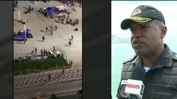 Porta-voz da PM diz que foliões devem evitar selfies nas ruas para não serem assaltados