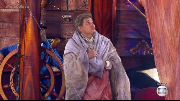 Edson Celulari vem em carro abre-alas da Beija-Flor como Dr. Frankenstein