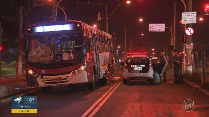Criança de 2 anos morre após ser atropelada por ônibus em Campinas