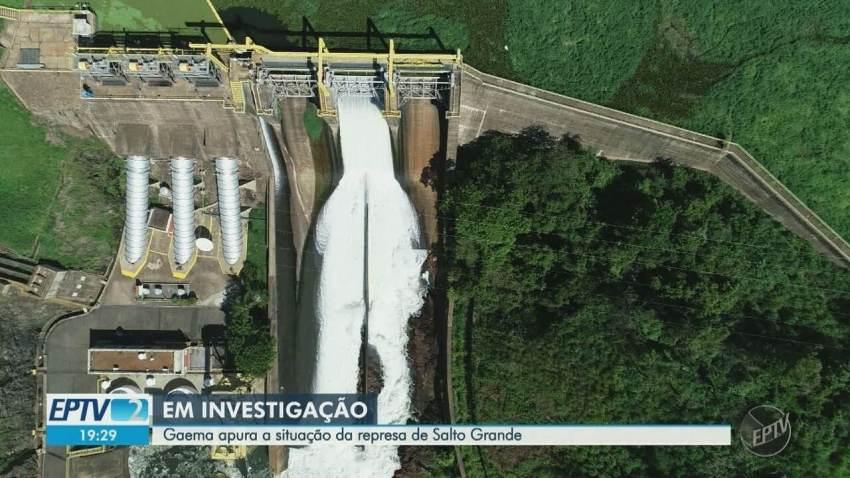 Gaema apura a situação da represa de Salto Grande