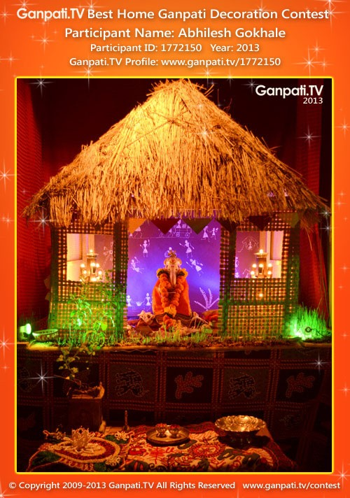Ganpati Home Decoration