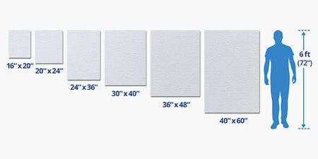 Rolled Canvas Printing - Canvas Prints | PrintRunner