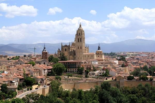 Картинки Испания Сеговия город