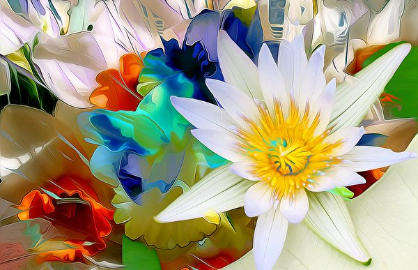 3D Цветы картинки (60 фото) скачать обои