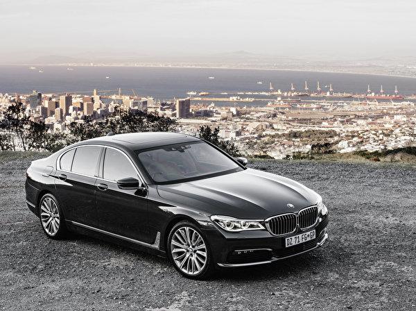 Картинка БМВ G11 7-Series Седан Черный Металлик Автомобили ...
