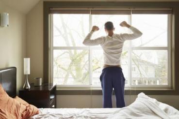 wakeup_697447963 للوقاية من الاصابة بالاكتئاب عليك بالاستيقاظ باكرا المزيد