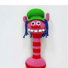 Тролли Бранч, Поппи и Купер - схема вязания игрушки ...