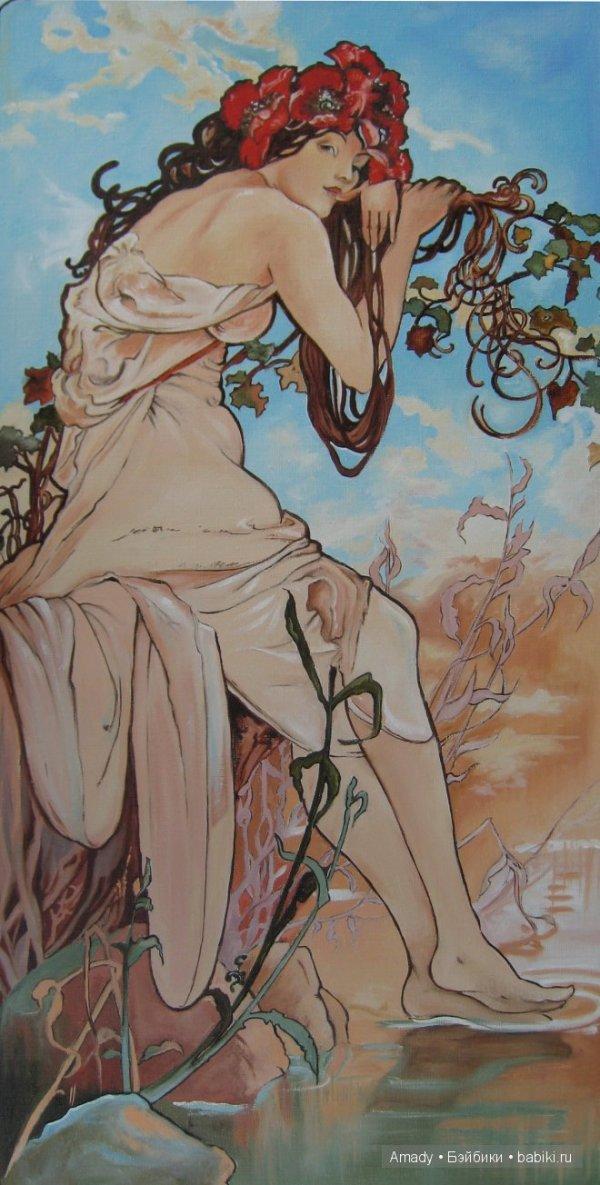 Женщины в картинах знаменитых зарубежных художников (более ...