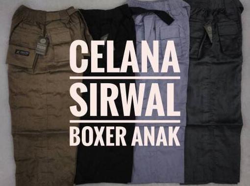 celana sirwal boxer anak