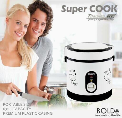 Super cook Rice cooker mini Bolde original free bubble