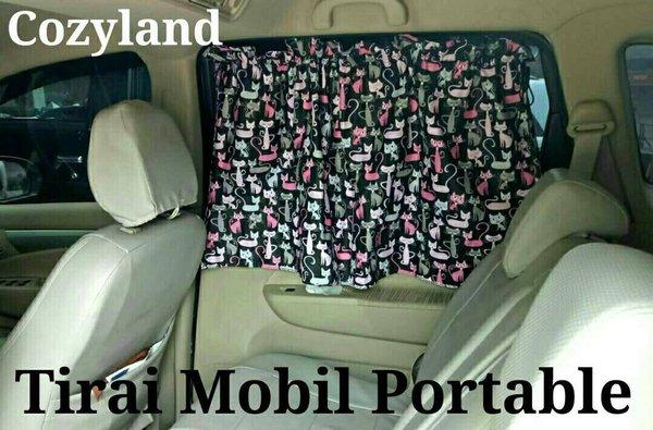 SUPER QUALITY Tirai gorden Mobil Portable