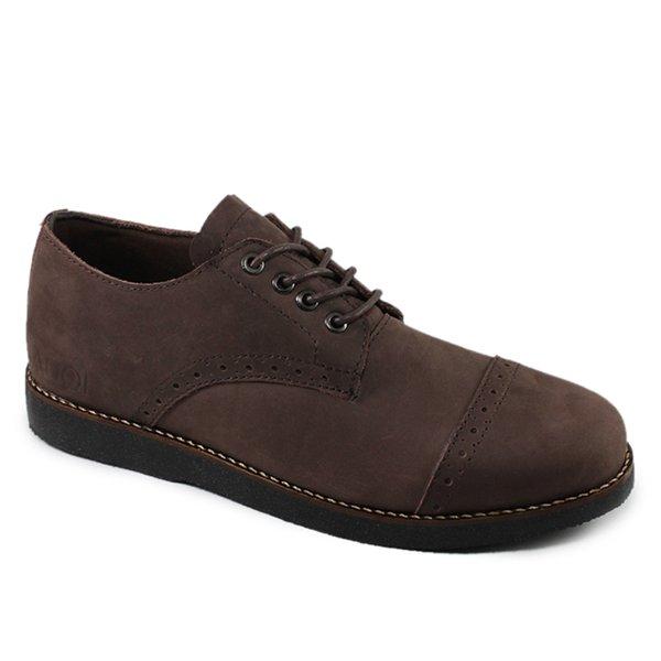 ... Kantoran Kulit Asli Sepatu Pria Casual Hitam dan Coklat  Kickers   Clarks  Cat  Adidas  Nike  Handmade  Grosir Sepatu  Sepatu Murah   Sepatu  Kulit Asli ed5d1cc5d8