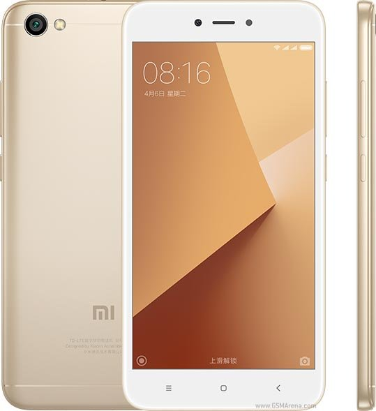 XIAOMI REDMI NOTE 5A - GOLD - RAM 2 GB - ROM 16 GB INTERNAL - GARANSI RESMI TAM 1 TAHUN - HP XIAO RED MI NOT 5 A
