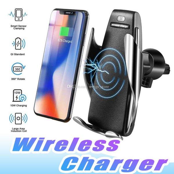 Car Holder Wireless Fast Charging Auto - Open Magic Smart Sensor S5