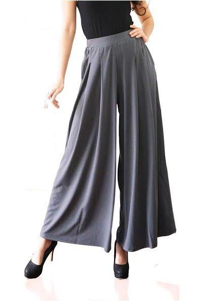 Celana Kulot Celana Panjang Celana Polos Long Pants Muslim