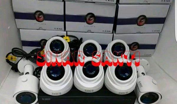 PROMO MURAH PAKET CCTV GLENZ 10 CAMERA 5MP 2560P REAL  LENGKAP TINGGAL PASANG