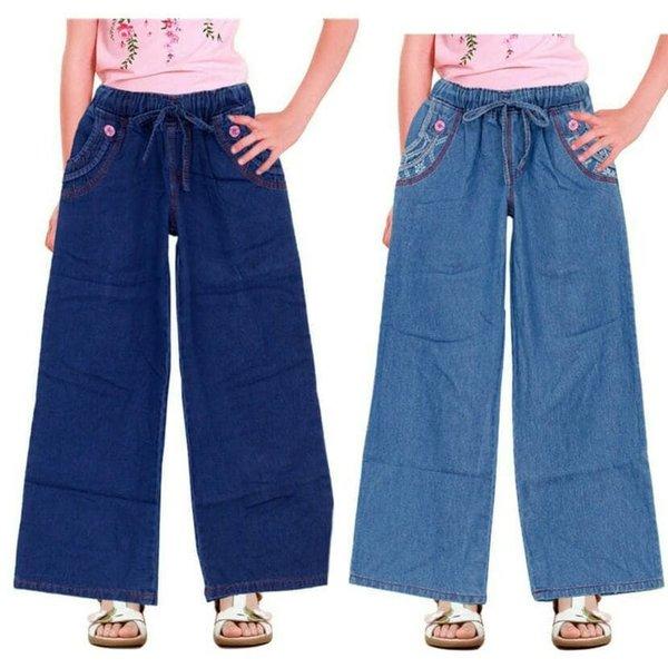 Celana Panjang Anak Perempuan Celana Kulot Anak Jeans ..