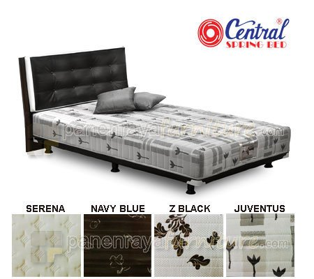 SPRING BED CENTRAL SPORTY SILVER RUSTY 100