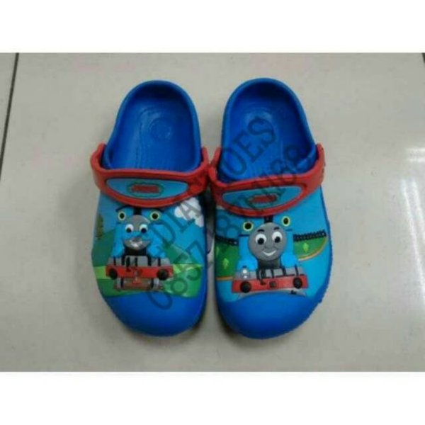 Sandal Anak Crocs Thomas the Tank Engine Original