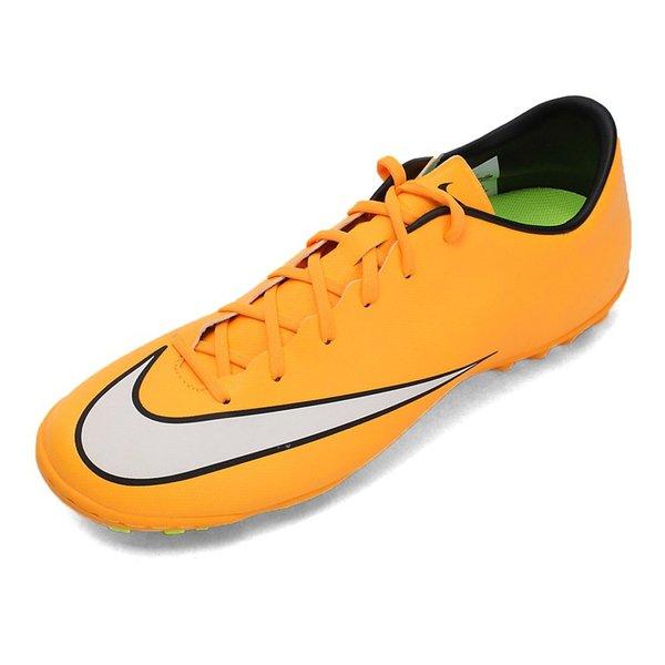 Asli Baru Kedatangan NIKE MERCURIAL VICTORY V TF pria Sepatu Sepak Bola Football Sneakers
