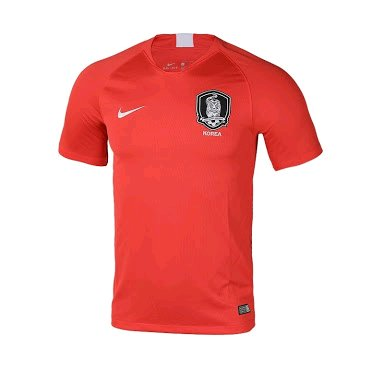 JERSEY BOLA KOREA SELATAN SOUTH KOREA HOME WORLD CUP PIALA DUNIA 2018 GRADE ORI