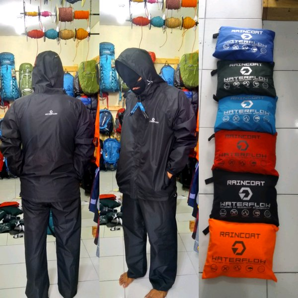 Jas hujan Rain coat Waterflow goretex not Consina not avtech not sun flower not forester