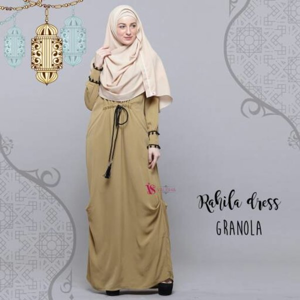 Baju Gamis Rahila Dress by Valisha