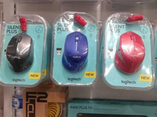 Mouse wireles logitech m331  m 331  silent plus  replace logitech m280 Unik