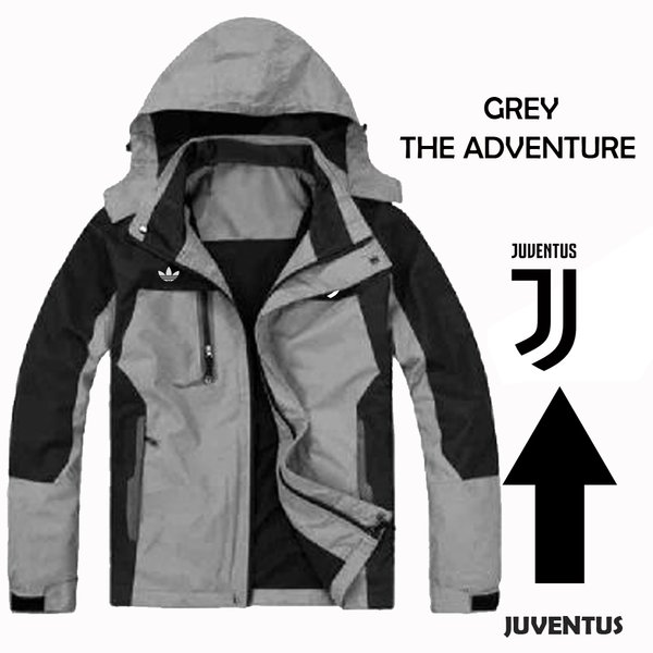 Jaket Gunung Grey The Adventure Jaket Juventus