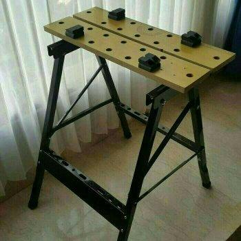 portable workbench krisbow/meja kerja potong gergaji