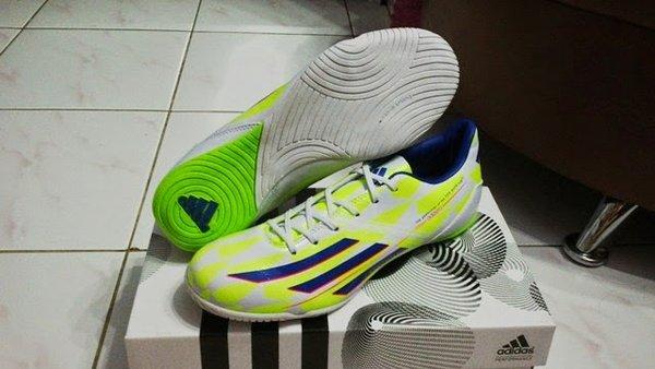 Sepatu Futsal - Adidas Adizero IV F50 Supernatural Green Limited Edition