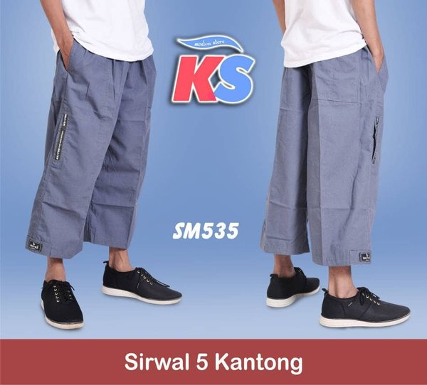 GROSIR Sirwal 5 Kantong Limited Stock