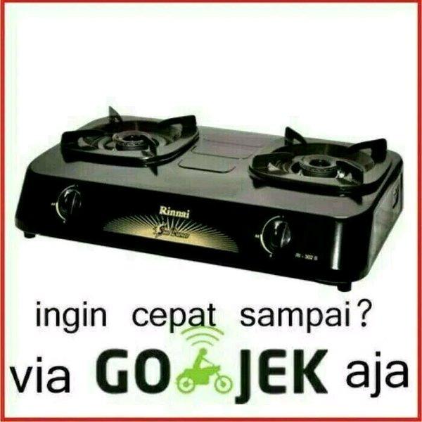 Kompor Rinnai 2 Tungku RI302S