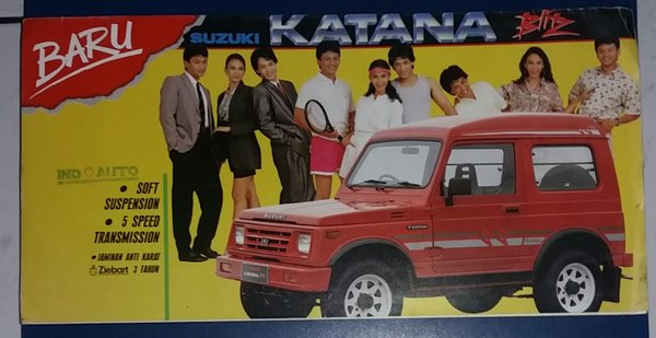 Image result for brosur katana blitz