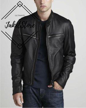 jaket kulit pria.