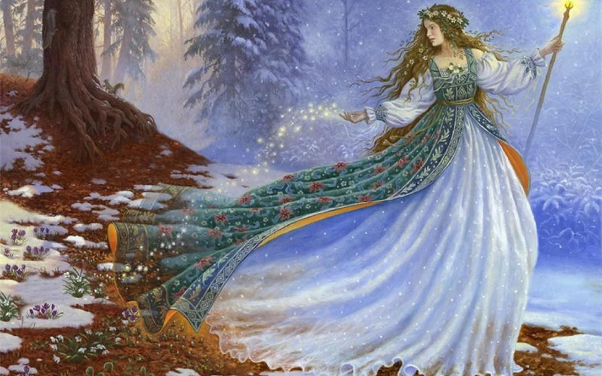 Winter Fairy Image
